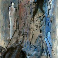 50x70 - Öl Papier - 1997